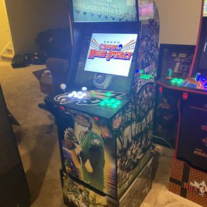Philadelphia Eagles Arcade1Up w/Raspberry Pi4 for Sale in Swedesboro, NJ