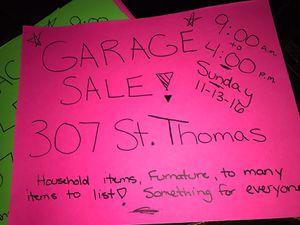 GARAGE SALE for Sale in Toms River, NJ
