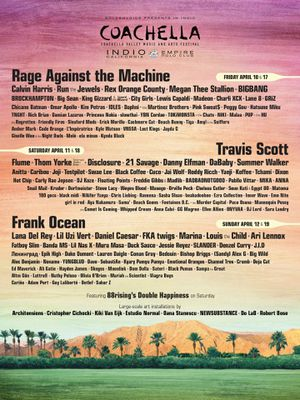 2 x Weekend 1 Coachella tickets + hotel reservation for Sale in San Francisco, CA