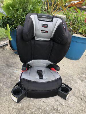 Gray/Black BRITAX Booster Car Seat for Sale in West Palm Beach, FL