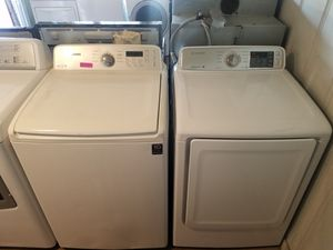 Samsung washer & electric dryer set for Sale in Houston, TX