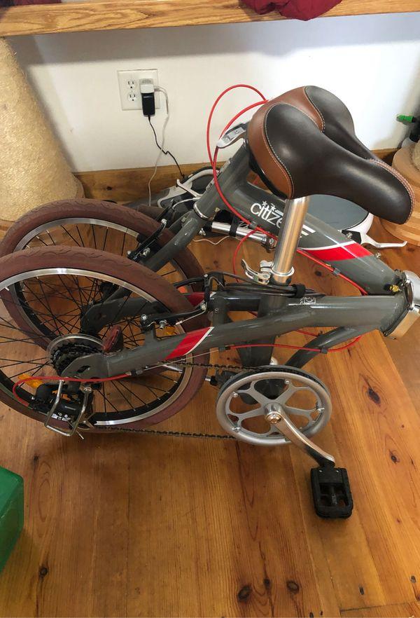 Citizen folding bike used lightly
