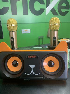 Cat karaoke speaker for Sale in Tulsa, OK