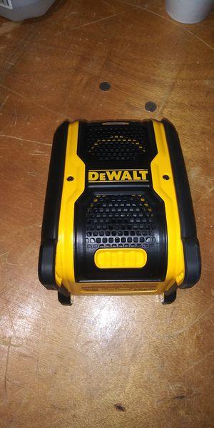 DEWALT 20-Volt/12-Volt Max Bluetooth Speaker for Sale in Atlanta, GA
