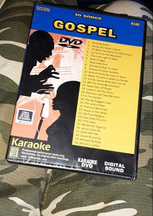 KARAOKE DVD 30 SONG GOSPEL - SEALED & BRAND NEW from 2005 for Sale in Manchester, NH