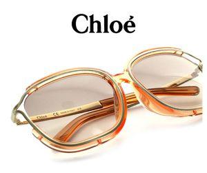 Trendy Luxury Designer Chloe large round vintage style sunglasses for Sale in Stockton, CA