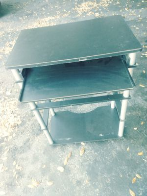 Computer stand with keyboard tray for Sale in Bradenton, FL