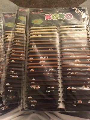 Elastic hair ties $1 for each for Sale in Lemon Grove, CA