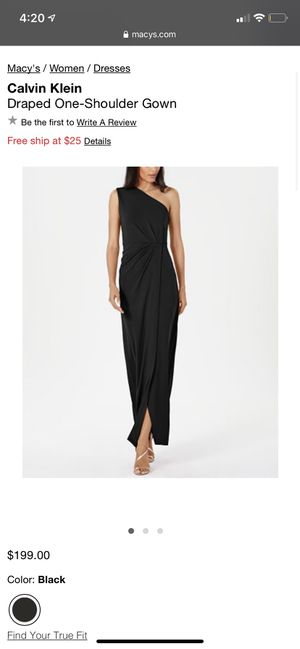 BRAND NEW - Calvin Klein One Shoulder Dress Size 10 for Sale in Miami, FL