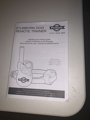 Pet safe Stubborn Remote Trainer for Sale in Prospect Heights, IL