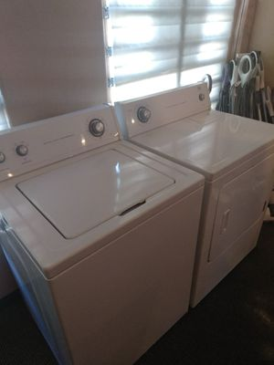 Washer and electric dryer like new for Sale in Modesto, CA