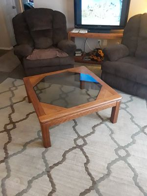 Solid oak Coffee cable asking $50 for Sale in Indianapolis, IN