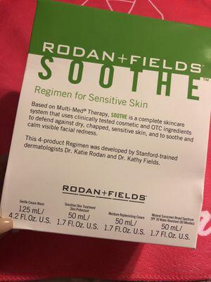 rodan + fields SOOTHE regimen for sensitive skin. COMPLETE set for Sale in Richardson, TX