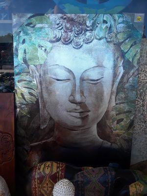 Tall canvas Buddha wall art for Sale in Dunedin, FL