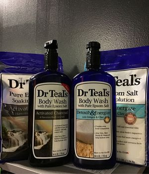 Dr Teals Set Body wash/pure epsom salt Combo for Sale in Ocoee, FL