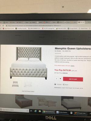 Queen bed for Sale in Mount Pleasant, MI
