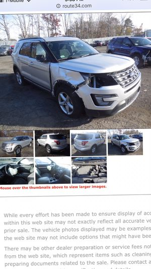 Ford Explorer 2016 for Sale in Clifton, NJ