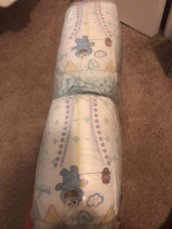 78 brand new Pampers size 2 $17 or better offer