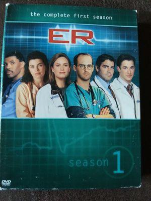 ER Season 1 DVD set ($2) for Sale in BRECKNRDG HLS, MO