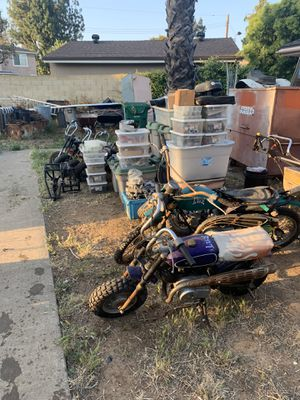 Huge Lot of motorcycle SST GEMINI bikes and parts for Sale in Tustin, CA