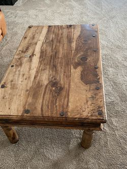 Solid Wood Coffee Table for Sale in Santa Monica,  CA