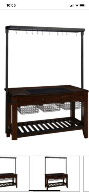 Kitchen island with cutting block for Sale in Billerica, MA