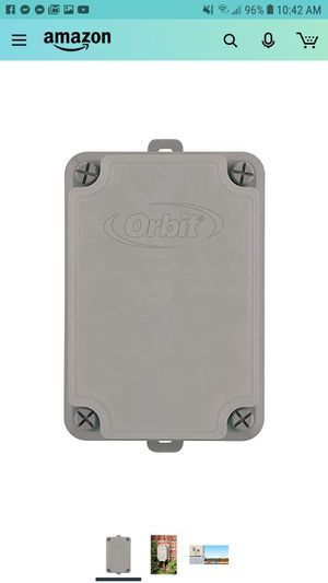 Orbit 57009 Sprinkler System 1 or 2 Horsepower Pump Start Relay for Sale in Glendale, AZ
