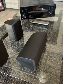Klipsch Speakers And Pioneer Receiver With 2Stands for Sale in Hayward,  CA