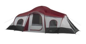 NEW!! 10-person 3 room cabin tent red, camping gear, outdoor tent for Sale in Tempe, AZ