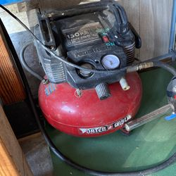 Porter Cable Air Compressor 6 Gal Good work for Sale in Long Beach,  CA