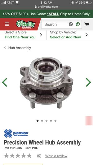 Nissan Quest Murano Wheel Hub Assembly for Sale in El Monte, CA