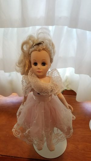 """12"""" Doll with movable eyes and comes with doll stand for Sale in Levittown, PA"""