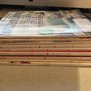 Free Lot Of Cooking Magazines & Cook Books for Sale in Chesapeake, VA