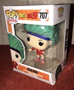 Funko Dragon Ball Z Bulma (damaged box) for Sale in Fort Bliss, TX