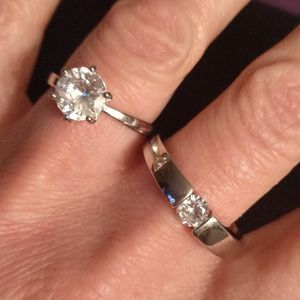 Bride & Groom Solitaire Rings for Sale in Gladstone, OR