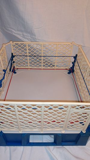 WWF Wrestling Ring 1985. LJN toys LTD for Sale in Brunswick, MD