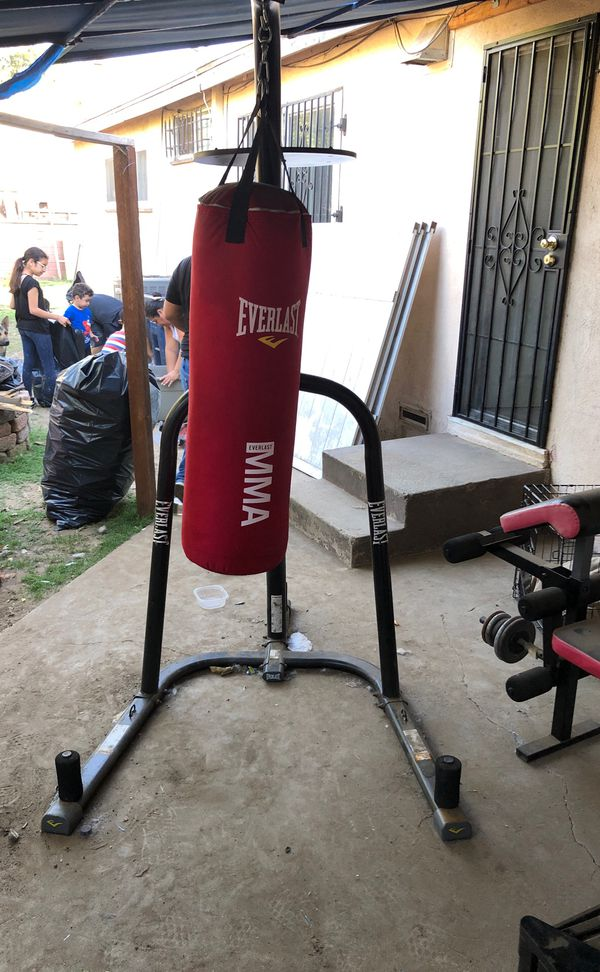 Everlast Heavy bag /Speed bag combo