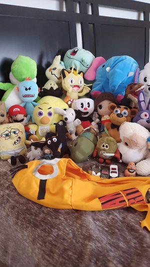 Take ALL Stuffed Plushies for Sale in Murrieta, CA