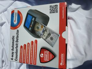 $150 CASSIDA QUATTRO 4 WAY AUTOMATIC COUNTERFEIT DETECTOR for Sale in Las Vegas, NV