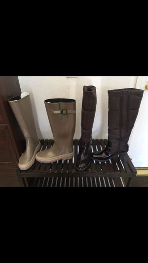 Marc Jacobs rain boots and Aerosoles boots for Sale in Las Vegas, NV