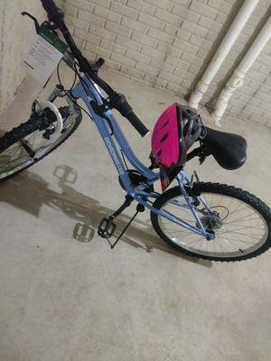 Girls bike & helmet for Sale in Detroit, MI
