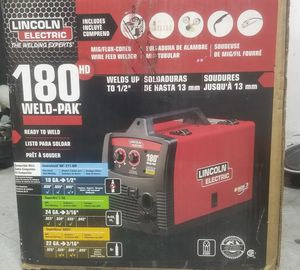 Lincoln electric welder machine 180 for sale for Sale in New York, NY