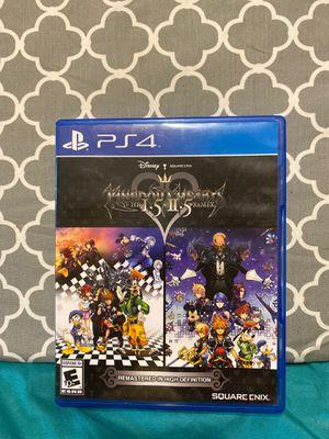 Kingdom Hearts HD 1.5 + 1.5 ReMIX for Sale in Pompano Beach, FL