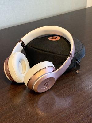 Beats by Dre Solo 3 Wireless Bluetooth Headphones for Sale in Costa Mesa, CA