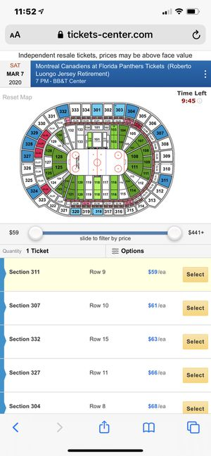 HOCKEY TICKET for Sale in Boca Raton, FL