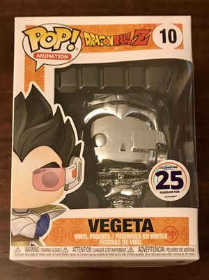DragonBall Z Chromed Vegeta SDCC 25th Anniversary Funimation Exclusive for Sale in Fullerton, CA