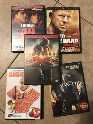 5 DVD's for Sale in Boca Raton, FL