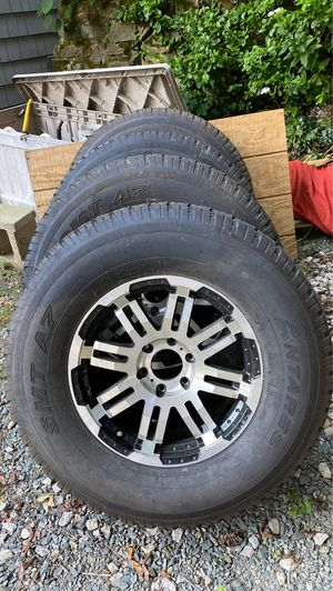 4 new tires and rims for Ford F-150 for Sale in North Smithfield, RI
