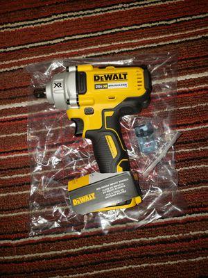 "Dewalt 1/2""(12.7 mm) mid range impact wrench 20v XR BRUSHLESS for Sale in Smyrna, TN"