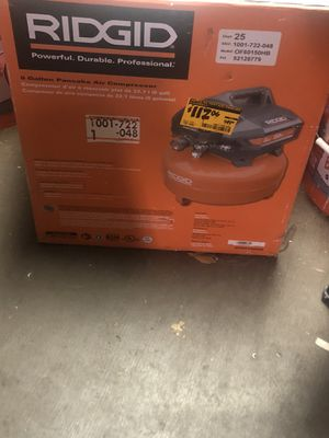 Ridged air compressor for Sale in Tucker, GA